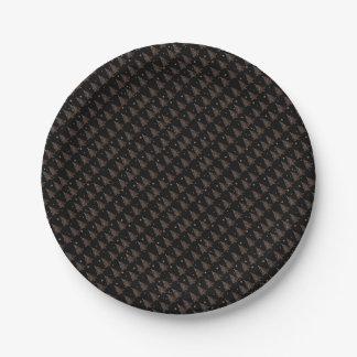 Christmas tree - pattern paper plate