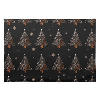 Christmas tree - pattern placemat