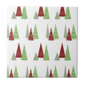 Christmas Tree Pattern Tile