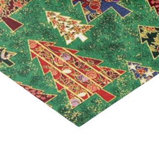 Christmas tree pattern tissue paper