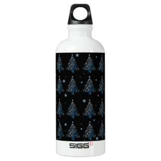 Christmas tree - pattern water bottle