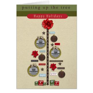 Christmas Tree Photograph Card