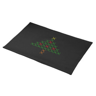 Christmas tree placemat