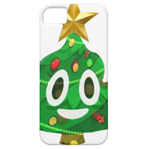 christmas tree poop emoji iphone 5 case