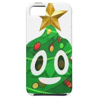 Christmas Tree Poop Emoji iPhone 5 Cases