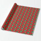 Christmas Tree Poop Emoji Wrapping Paper