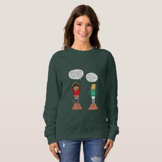 Christmas Tree Pose | Funny Yoga Christmas Jumper Sweatshirt
