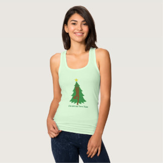 """""""Christmas Tree Pose"""" Tank top"""