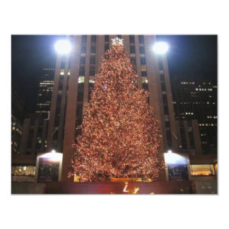 Christmas Tree Rockefeller Center Card