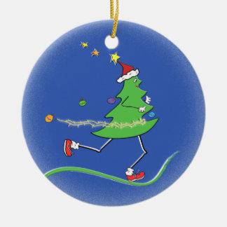 Christmas Tree Runner © Ceramic Ornament