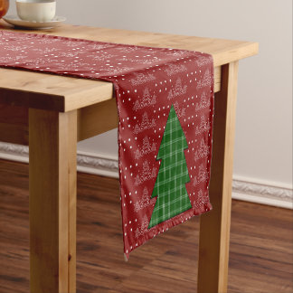 Christmas Tree Short Table Runner