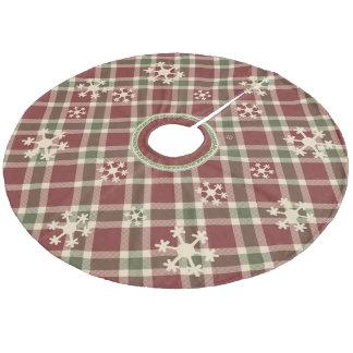 Christmas Tree skirts - Plaid Tree Skirts