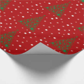 Christmas Tree & Snowflakes - Wrapping Paper