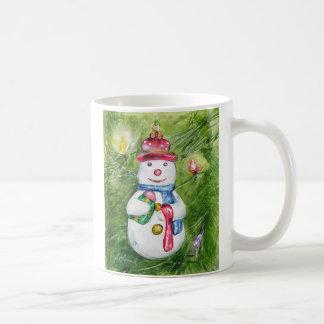 Christmas Tree Snowman Mug