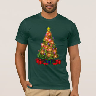 Christmas Tree Sparkle T-shirt