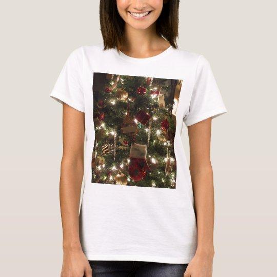 christmas tree sparkles T-Shirt