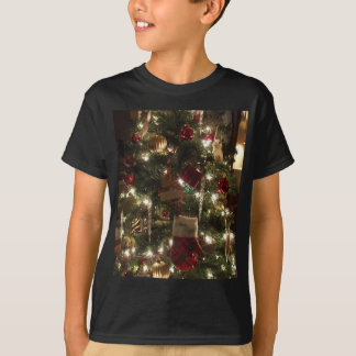 christmas tree sparkles t-shirts