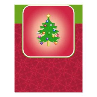 Christmas Tree Template Letterhead