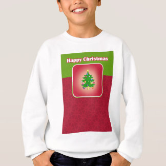 Christmas Tree Template Sweatshirt