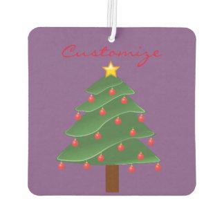 Christmas Tree Thunder_Cove Air Freshener