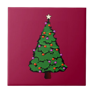 Christmas Tree Tile
