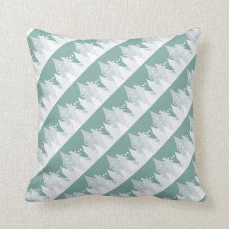 Christmas Tree Tile Throw Pillow