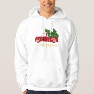 Christmas tree truck Men's Sweatshirt