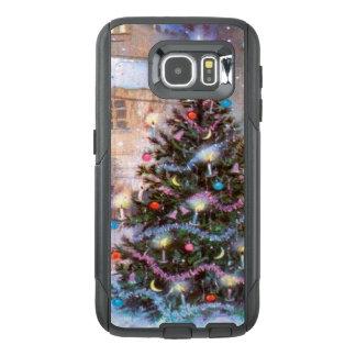 Christmas Tree Vintage OtterBox Samsung Galaxy S6 Case