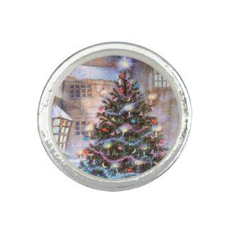 Christmas Tree Vintage Ring