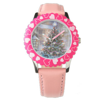 Christmas Tree Vintage Wrist Watches