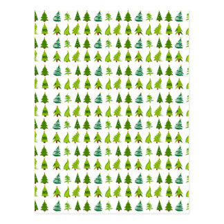 Christmas Trees gifts.png Postcard