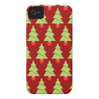 Christmas Trees iPhone 4 Case-Mate Cases