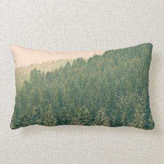 Christmas Trees Lumbar Pillow