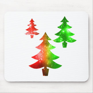 Christmas Trees Mouse Pad