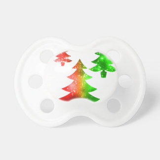 Christmas Trees Pacifier