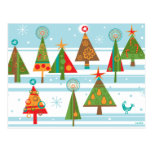 Christmas Trees  Post Cards