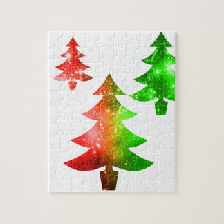 Christmas Trees Puzzle