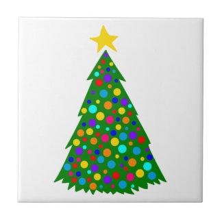 Christmas Trees Tile