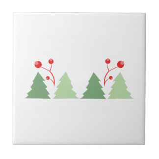 Christmas Trees Tile