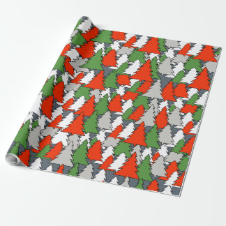CHRISTMAS TRESS PATTERN by Slipperywindow Wrapping Paper