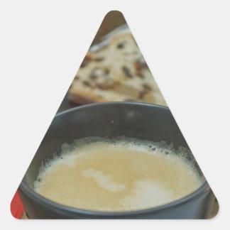 christmas triangle sticker