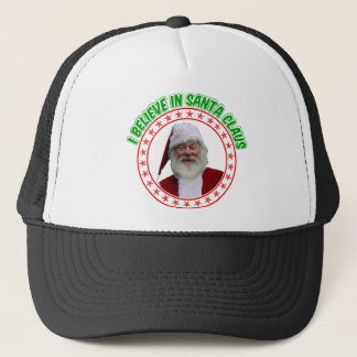 Christmas Tuckers hat -  I Believe in Santa Claus