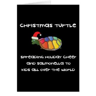 Christmas Turtle Card