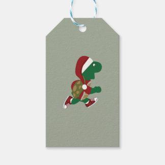 Christmas Turtle Runner Gift Tags