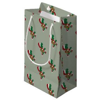 Christmas Turtle Runner Small Gift Bag