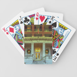 Christmas Tutwiler Bicycle Playing Cards