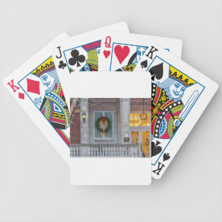 Christmas Tutwiler Hotel Bicycle Playing Cards