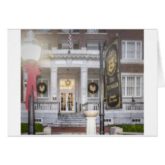 Christmas Tutwiler Hotel in Birmingham, AL 102 Card