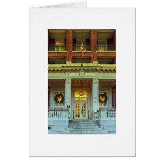 Christmas Tutwiler Hotel in Birmingham, AL 103 Card