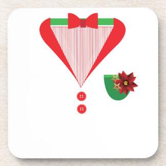 Christmas Tuxedo christmas costume Coaster